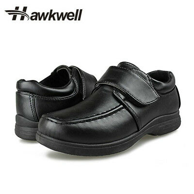 Hawkwell Students White Black Uniform Kids Boys School Shoes Sneakers Oxford