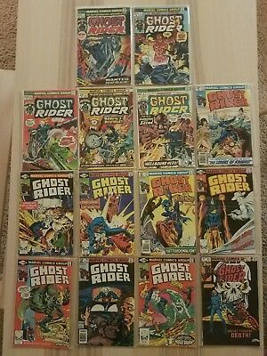 Ghost Rider 1 2 4 8 9 52 53 54 55 56 57 58 59 81 Lot of 14