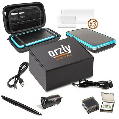 2DSXL Accessories, Orzly Ultimate Starter Pack for New Nintendo 2DS XL (B... New