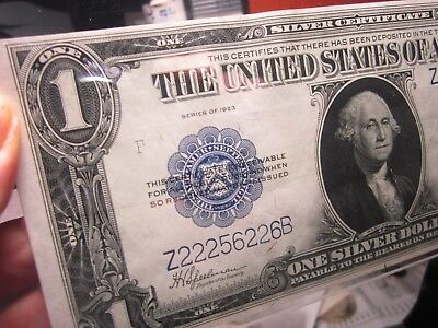 1923  $1.00  Pcgs  65 Ppq   Fr# 237    From The Eric P. Newman Collection  !!!!