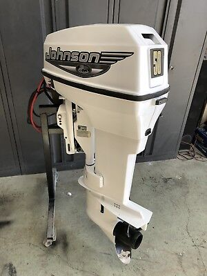 50Hp Johnson / Evinrude Outboard Motor Can Freight Australia Wide