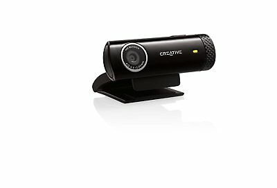 Creative Labs Live! Cam Chat HD Webcamera with Built-in Noise-Cancelling Mic