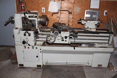 Cadillac Engine Lathe, Model 1440, Threading,Includes 3 Jaw Chuck, Collet Closer