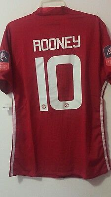 Trikot Maglia Jersey Rooney Manchester