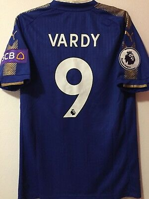 Trikot Maglia Jersey Leicester City Vardy 2018
