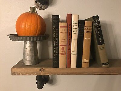 Lot of 7 ANTIQUE/VINTAGE Hardcover Books Collection Set Neutral