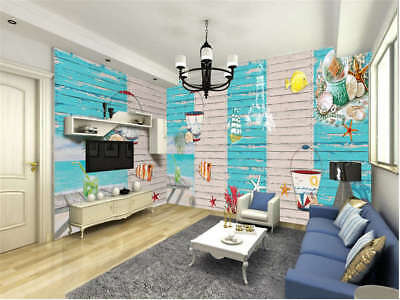Smart Tuneful Ship 3D Full Wall Mural Photo Wallpaper Printing Home Kids Decor