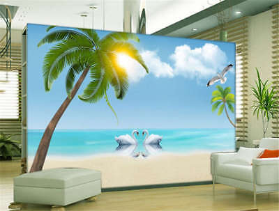 Lonely Tuneful Tree 3D Full Wall Mural Photo Wallpaper Printing Home Kids Decor