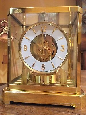 Jaeger LeCoutre Atmos clock...serviced and timed