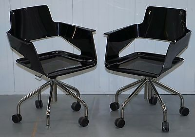 Arrmet Mod B.32 Contemporary Office Chair Fast Wheels Simple Design 1 Of 2