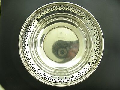 Tiffany and Co. Sterling Silver Bowl Pattern 20675 Cut Out Flower Motif