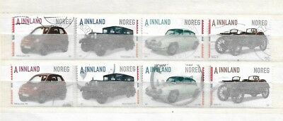 NORWAY USED 2017 CAR SETS x2