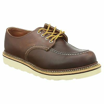 d2711ead90a RED WING MEN S Mahogany Steel Toe Leather Penny Loafer  6605 SD  9 1 ...