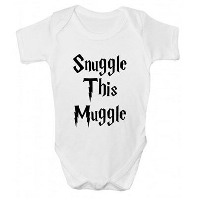 Snuggle This Muggle Baby Grow - Harry Potter Inspired Babies Clothing