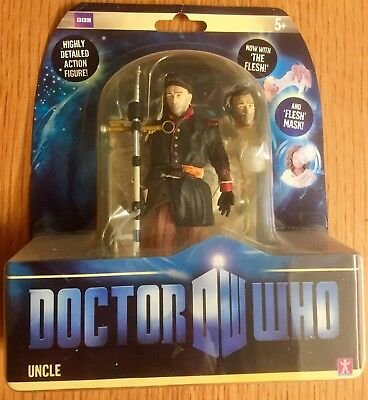 Doctor Who UNCLE Action Figure variant with Flesh (New / Factory sealed)