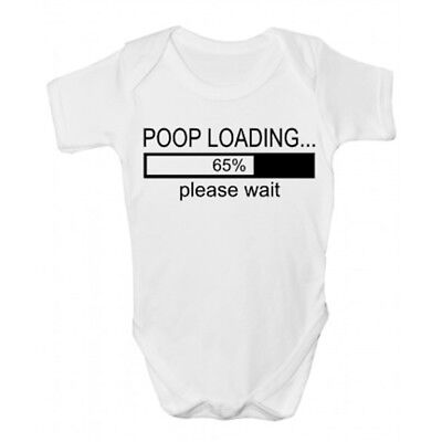Poop Loading Baby Grow - Funny Babies Clothing