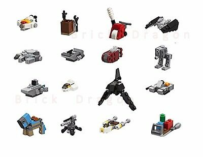 LEGO STAR Wars 16x Mini Sets & instructions from 2017 Advent ...