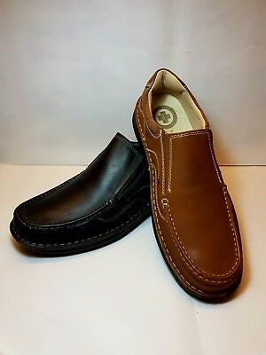f02b0dc2eb DR KELLER BRIAN Mens Smart Leather Shoes Brown Wider Fit ~ Size 6 7 ...