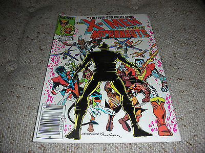 X-MEN and the MICRONAUTS # 1 Jan 1984 Marvel Comics