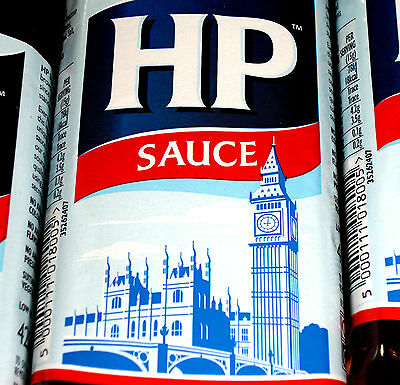 HP Original Brown Sauce 425g Steak Stew English Breakfast Grill BBQ €0.87/100g
