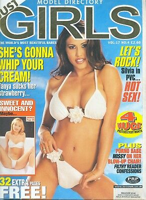 Model Directory Just Girls vol 17 no 4 ( 1999 ) - Adult Glamour Paul Raymond