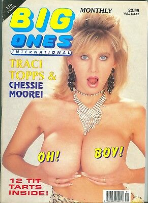 Big Ones International  Vol 2 No 12 ( 1992 ) - Adult Vintage Glamour