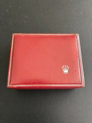 Rolex Authentic Red Ladies Watch Box Good Condition Free Ship