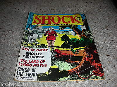 SHOCK Chilling Tales of Horror & Suspense Vol 1 # 6 March 1970