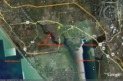 Florida Port Charlotte 1/4 acre lot - bid for down payment - pay $150 monthly