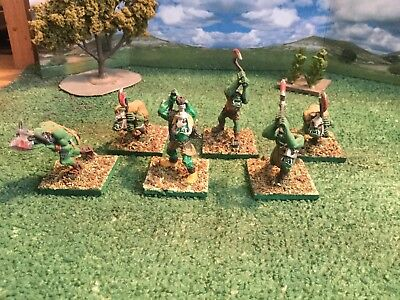Fantasy Orc 2 Handed Weapons 25mm (6)