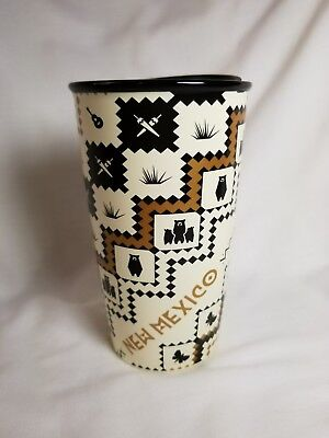 2017 Starbucks Local Collection Double-Wall Ceramic Mug New Mexico Limited Ed.