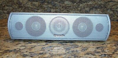 Panasonic SB-PC730 Home Theater Sound System 2-Way Center Channel Speaker Silver