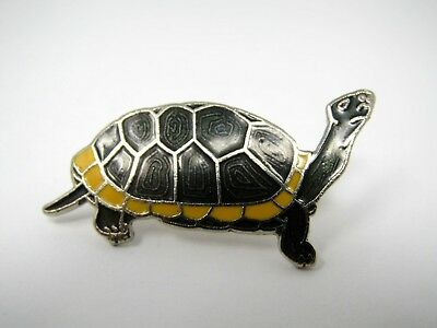 Vintage Collectible Pin: TORTOISE TURTLE Excellent Design