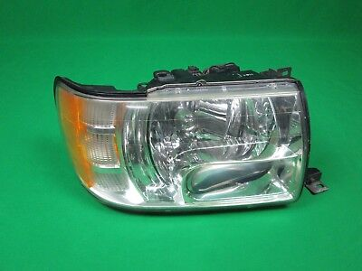 2002 2003 Infiniti Qx4 Right Passenger Side Xenon Hid Headlight Assembly Used