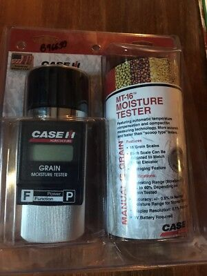 CASE IH Grain moisture tester rice corn wheat barley oat MT-16 MT16 USA