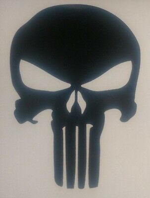 Punisher Decal - The Punisher Skull Sticker - Choose Color. Buy 2 get 1 free.