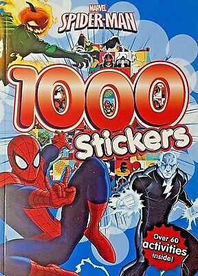 Marvel | Spiderman | 1000 Stickers | Over 60 Activities | Activity Book | New