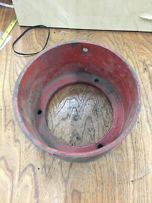 Fairbanks Morse T or H Antique Hit And Mis Gas Engine Cast Pulley