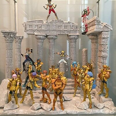 SPECIAL COLLECTIONS! Saint Seiya All 18 sets in PALACE w/ stands