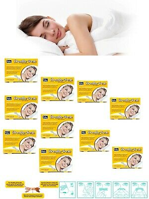 Pufai Breathe Fresh Nasal Strips Large Size 66mm 19mm 100 Pieces 10 Boxes