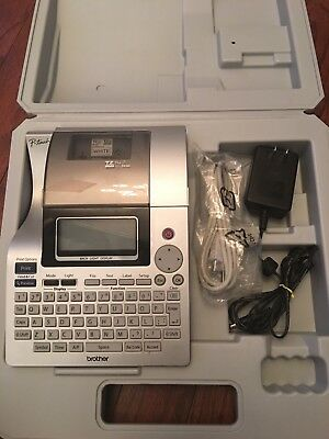 Brother P-Touch PT-2710 Desktop Labeling System in Case