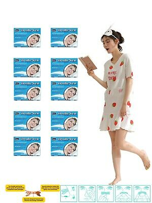 Nasal strips , TRANSPARENT large size nasal strips,100 piece in 10 box by Pufai