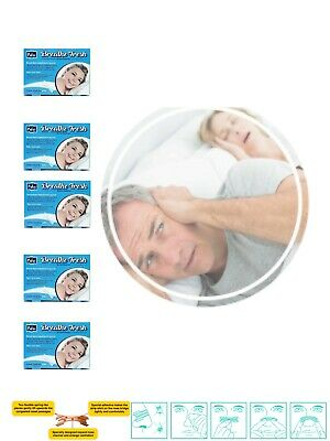 Pufai Nasal Strips Reduce Snoring Aid Transparent Large Size 66mm 19mm 50 Pieces