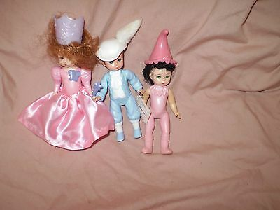 Lot of 3 Madame Alexander dolls McDonalds!! LQQK!