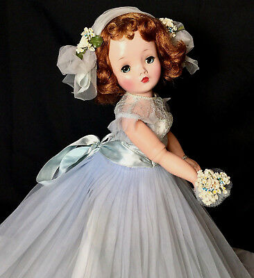 "c.1950s CISSY 21"" Bridesmaid Doll - TAGGED - MINT Madame Alexander Hard Plastic"
