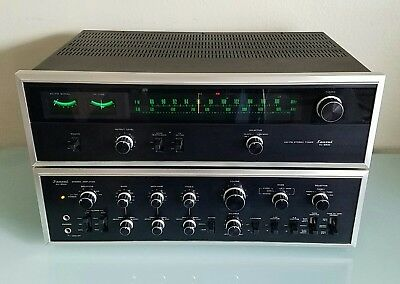 Sansui AU-9500 Integrated Stereo Amplifier + Sansui TU-9500 AM-FM Stereo Tuner..