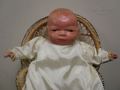 """Antique Grace Story Putnam 15"""" Composition Baby Doll- Bye-Lo Baby LOT 12"""