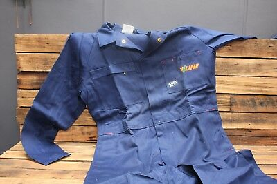 Vintage V Line Victorian Railways Jones Work Wear Overalls