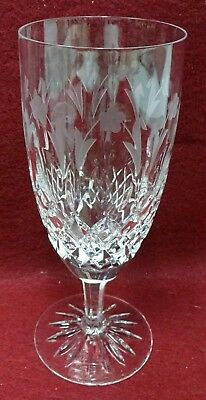 ROGASKA crystal QUEEN pattern Iced Tea Goblet or Glass - 8""