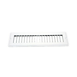 """Ap Products (13642) White 2-1/4"""" X 10"""" Face Plate"""